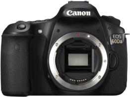 Canon EOS 60Da Digital Spiegelreflexkamera (18 Megapixel, 7,6 cm (3 Zoll) TFT Display, CMOS) Gehäuse schwarz - 1