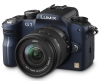 Panasonic Lumix DMC-G1K SLR-Digitalkamera (12 Megapixel, LiveView) blau inkl. Vario 14-45 mm F3,5-5,6 - 1